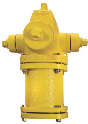 "5-1/4"", Mechanical Joint, 4' Rough-In, 150 PSIG, Lead-Free, Ductile Iron, Compression, Fire Hydrant"