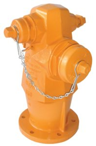 """4-1/2"""", 200 PSI, Grey/Ductile Iron Body, 3-Way, Wet Barrel, Fire Hydrant"""