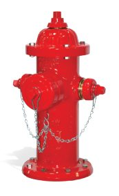 """5-1/4"""", MJ, 4' Trench, 250 PSI, Copper Alloy Handle, Medallion, Fire Hydrant"""